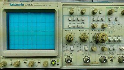 Tektronix 2465 300mhz Analog Oscilloscope