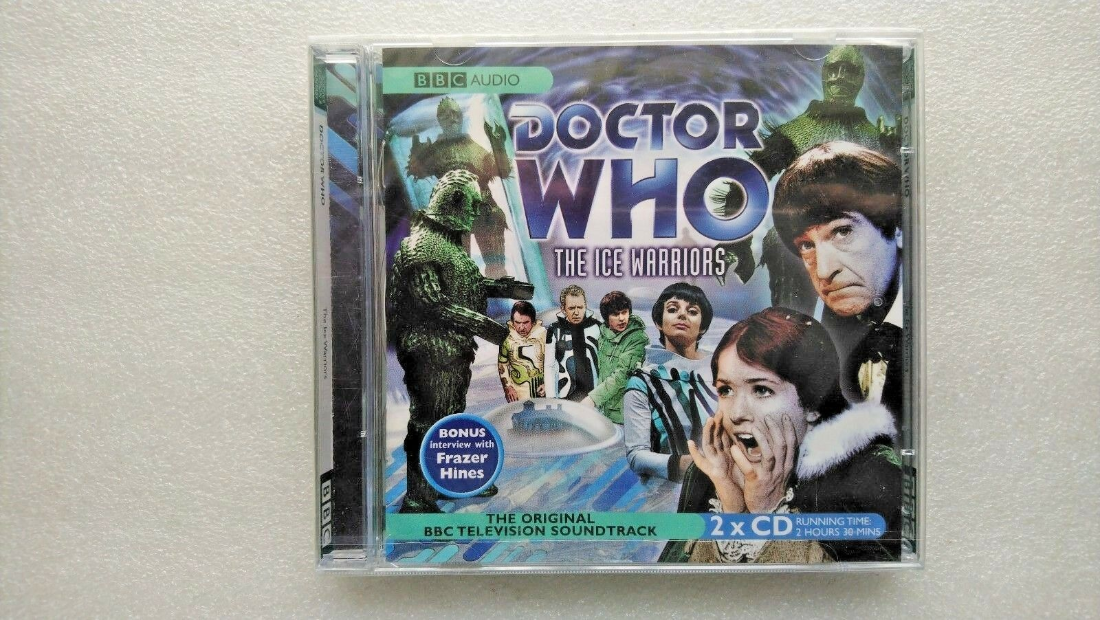 Doctor Who , the Ice Warriors by AudioGO Limited (CD-Audio, 2005) - NEW