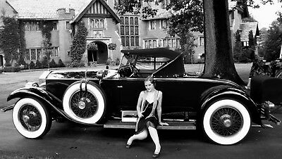 New York City Stylish Flappers photo  Classy Auto 1920's Jazz Prohibition