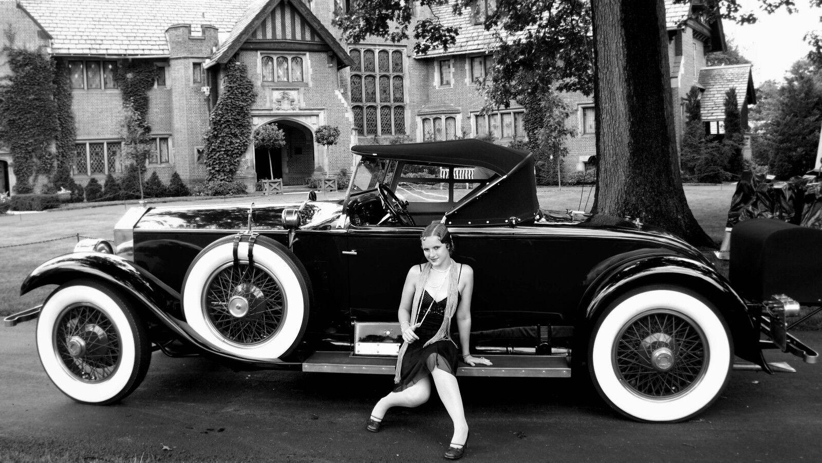 New York City Stylish Flappers photo  Classy Auto 1920's Jazz Prohibition