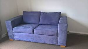 Freedom Two Seater Purple Sofa Waverley Eastern Suburbs Preview
