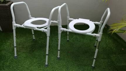 Toilet Seat Raiser Mobility Aid As New Bulimba