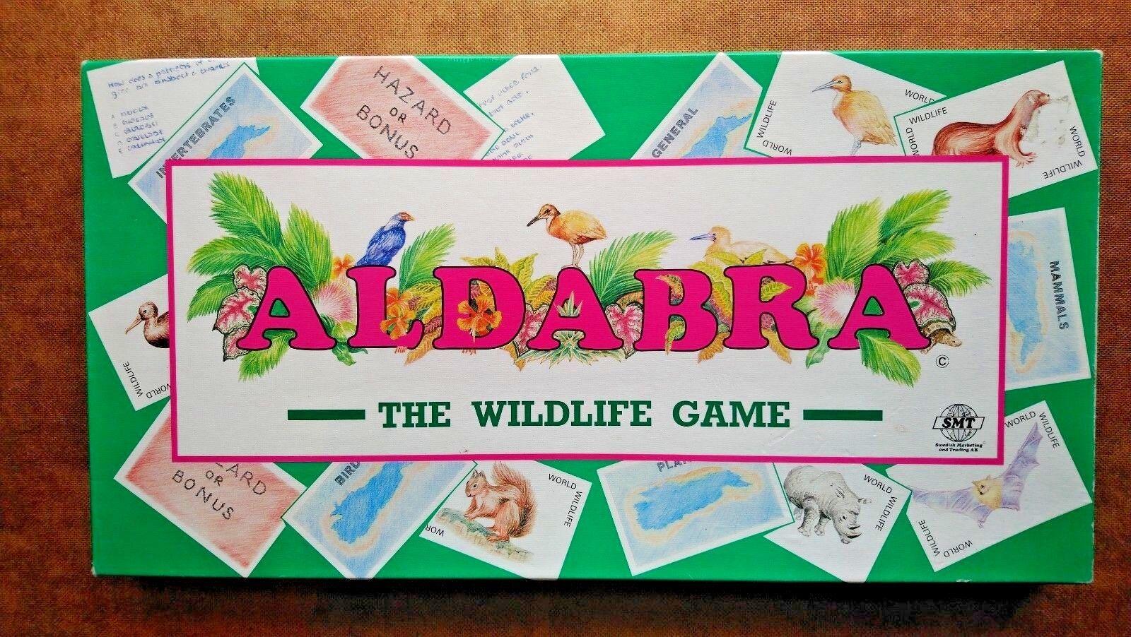 Aldabra The Wildlife Game  By SMT 1980s