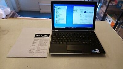 Dell Latitude E6220 Intel Core I5,2.5GHz 4Gb Ram 250GB SSD,W10,with good battery