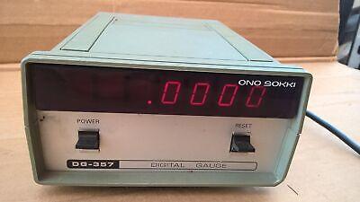 Ono Sokki Dg-357 Digital Gauge