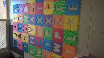 Foam Square Play Mats Lots of Them, A whole Room and borders-edgi Secret Harbour Rockingham Area Preview