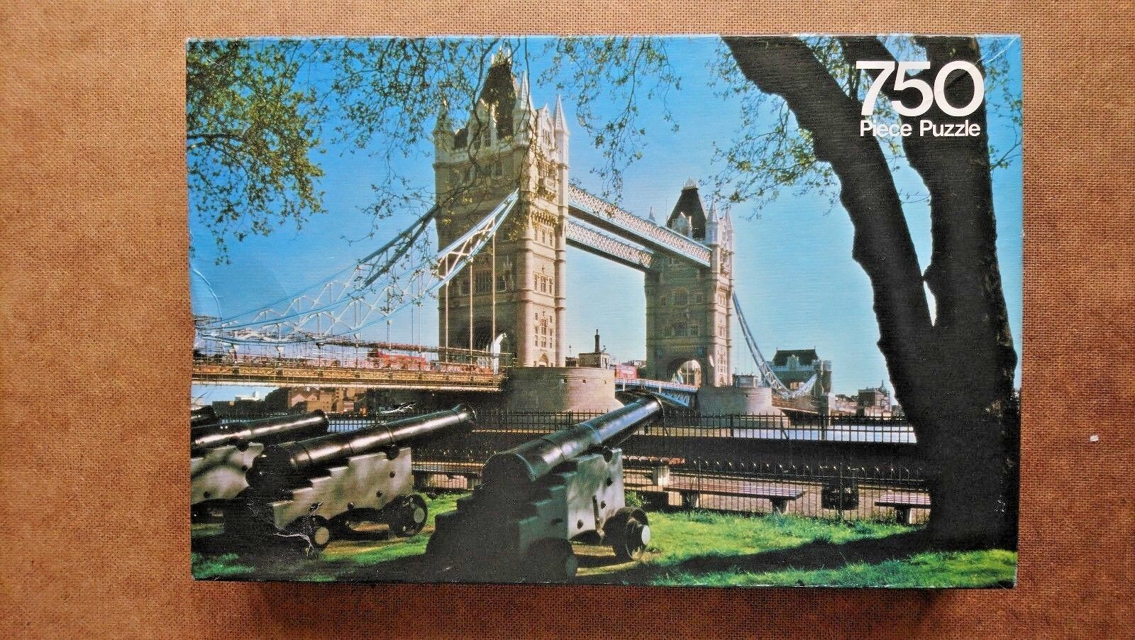 Tower Bridge London 750 Piece Jigsaw Puzzle by Arrow
