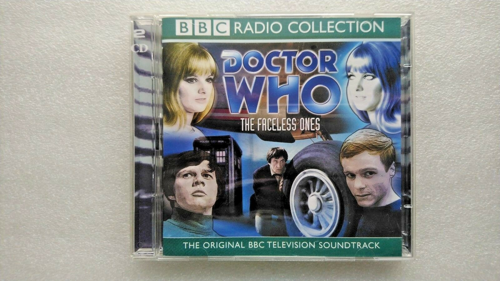 Doctor Who: Faceless Ones by BBC Audio (CD-Audio, 2002) - Patrick Troughton