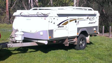2010 Jayco Dove Outback Research Nillumbik Area Preview