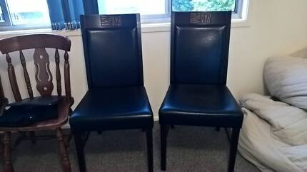 2 padded Dining Chairs