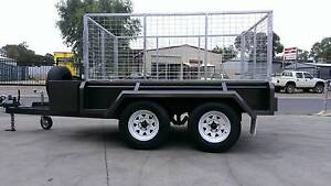 10X5 SERIOUSLY HEAVY DUTY CAGED TRAILER Adelaide CBD Adelaide City Preview