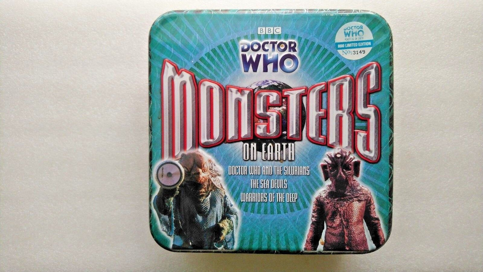 Doctor Who , Monsters on Earth (CD-Audio, 2006) - Limited Edition Tin (3149)