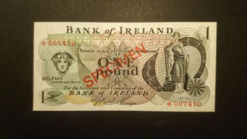Ireland 1 pound 1977 Belfast SPECIMEN UNC