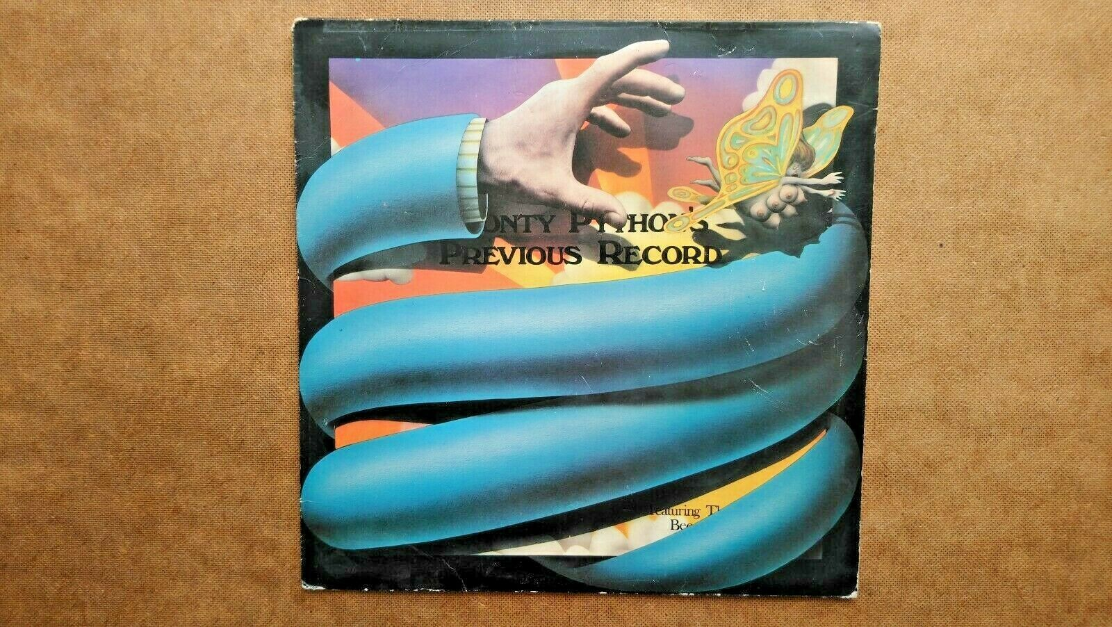 Monty Python's Previous Vinyl LP Record  (1972)