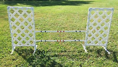Dog Agility Equipment Wing Jump - Squared Style