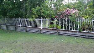 White Garden Fence & Gates Ripley Ipswich City Preview