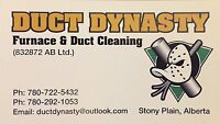 Duct Dynasty furnace and duct cleaning Ltd.
