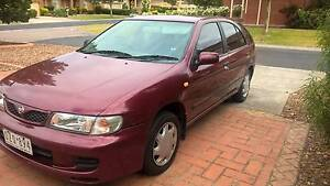 1998 Nissan Pulsar Hatchback REGO Taylors Lakes Brimbank Area Preview