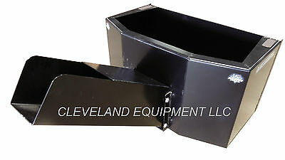 New Bd Concrete Material Bucket Skid Steer Loader Attachment Case Gehl Takeuchi
