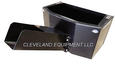 New 12 Yard Bd Concrete Material Bucket Skid Steer Loader Attachment Bobcat Cat