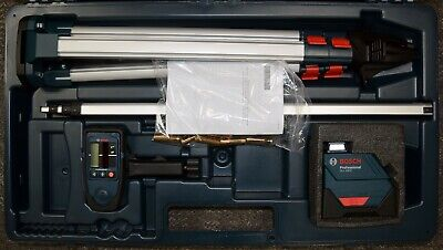 Bosch Gll 150e Professional Self Leveling Rotary Laser With Lr3 Receiver