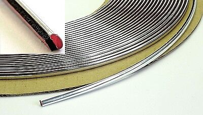 Chrom Zierleiste 5mm x 5m Universal Auto Leiste Selbstklebend Chromleiste Kontur