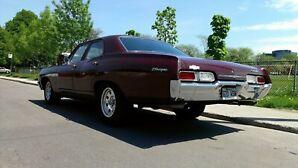 1967 Chevrolet biscayne 4 door post