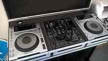 Pioneer DJ CDJ850 DJM850 in road case full DJ setup Sydney City Inner Sydney Preview