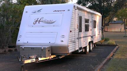 Jayco Heritage 26' Touring Van Gladstone Gladstone City Preview