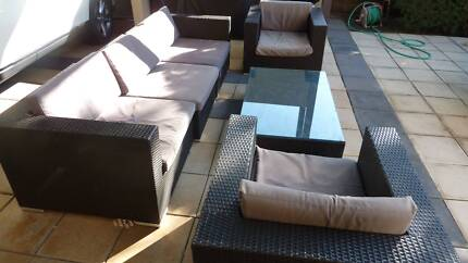 Outdoor Lounge Setting including coffee table Fullarton Unley Area Preview