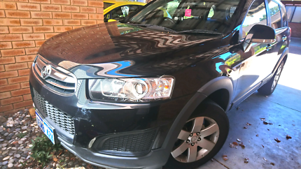 Holden captiva 2014 excellent condition