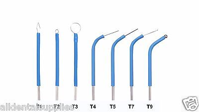 New Bonart Electrode Set For The Art-e1 Electrosurgery 7 Tips - Dental
