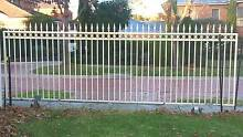 Steel gate on wheel Rowville Knox Area Preview