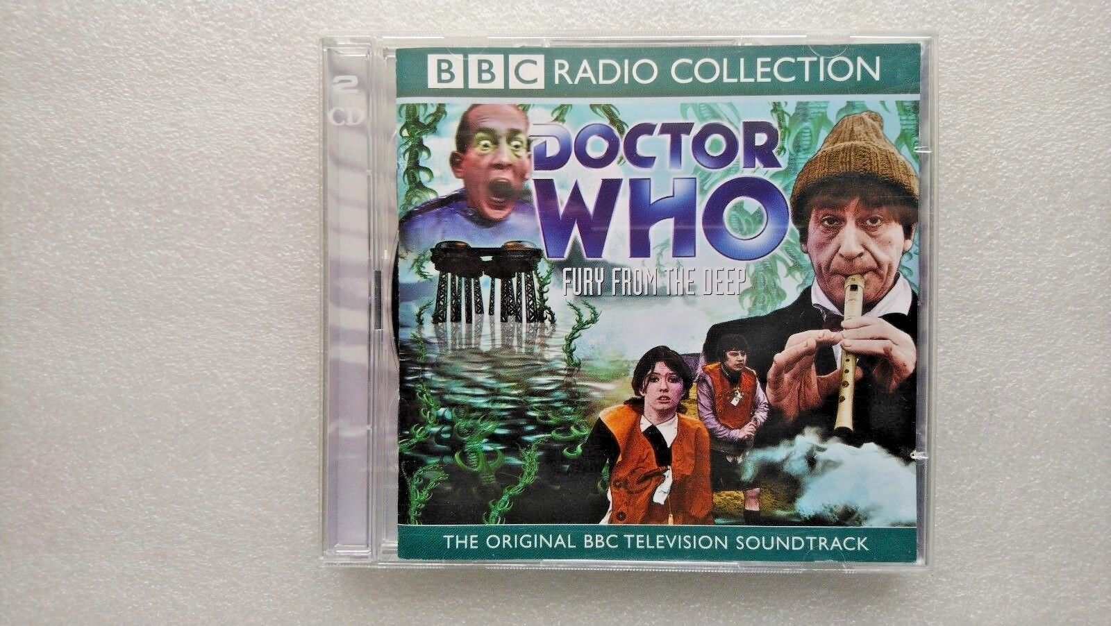 Doctor Who , Fury from the Deep (CD-Audio, 2004) - Patrick Troughton
