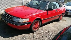 For sale 1995 SAAB 900 Comvertible 2.5