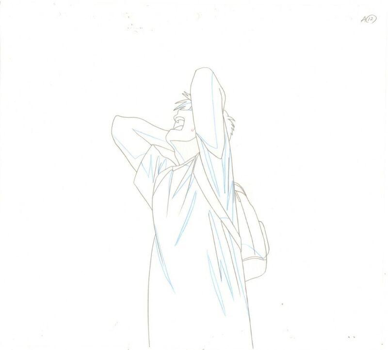 Anime Douga not Cel Chobits #134