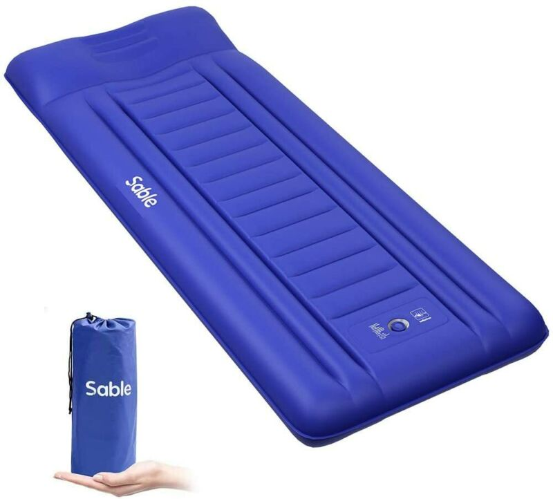 Sable Self Inflating Camping Pads Thick 5.5 Inch Lightweight Camping Sleeping Pa