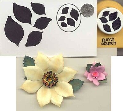 - Large DAHLIA PETALS  Paper Punch by Punch Bunch Scrapbooking-Quilling-Cardmaking