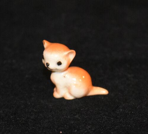 Hagen Renaker Orange Kitten Cat Figuring Sitting