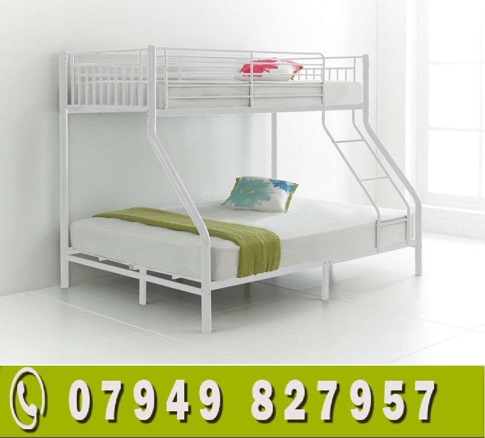 WHITE WOODEN Bunk Bed CONVERTED IN TO 2 SINGLESin Edmonton, LondonGumtree - Please see all images for prices and product details and feel free to call us