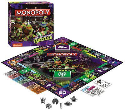 Monopoly Teenage Mutant Ninja Turtles Edition - 2014 Family Board Game - NEW!](Ninja Turtle Family)