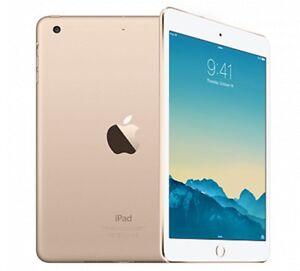 iPad mini 3 - 16gb gold Wi-Fi w/ case