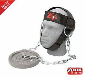 Head Harness Dipping For Neck Exercise Adjustable Belt Chain Weight lifting GYM