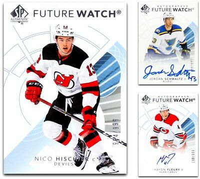 2017 18 Sp Authentic Future Watch      Pick Your Card      From The List