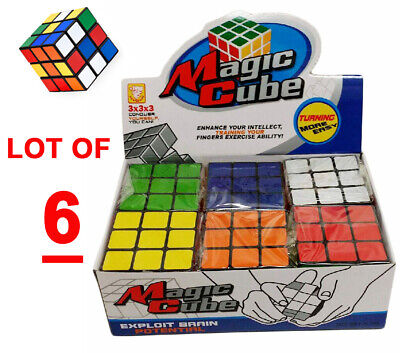 3x3x3 Colorful Magic Giant Rubik's Cube Mosaic, ArtPrize Puzzle Professional 6PC for sale  Shipping to Nigeria