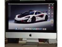 Apple 21.5 inch iMac 12,1 with iNTEL i5 - it has a slightly dodgy DVD player