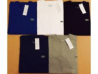 Lacoste T shirts 5 Colours SALE!!!