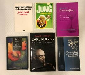 Psychotherapy/Counselling Books USED From £3