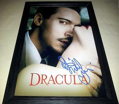 "DRACULA SIGNED & FRAMED 12""X8"" POSTER JONATHAN RHYS MEYERS"