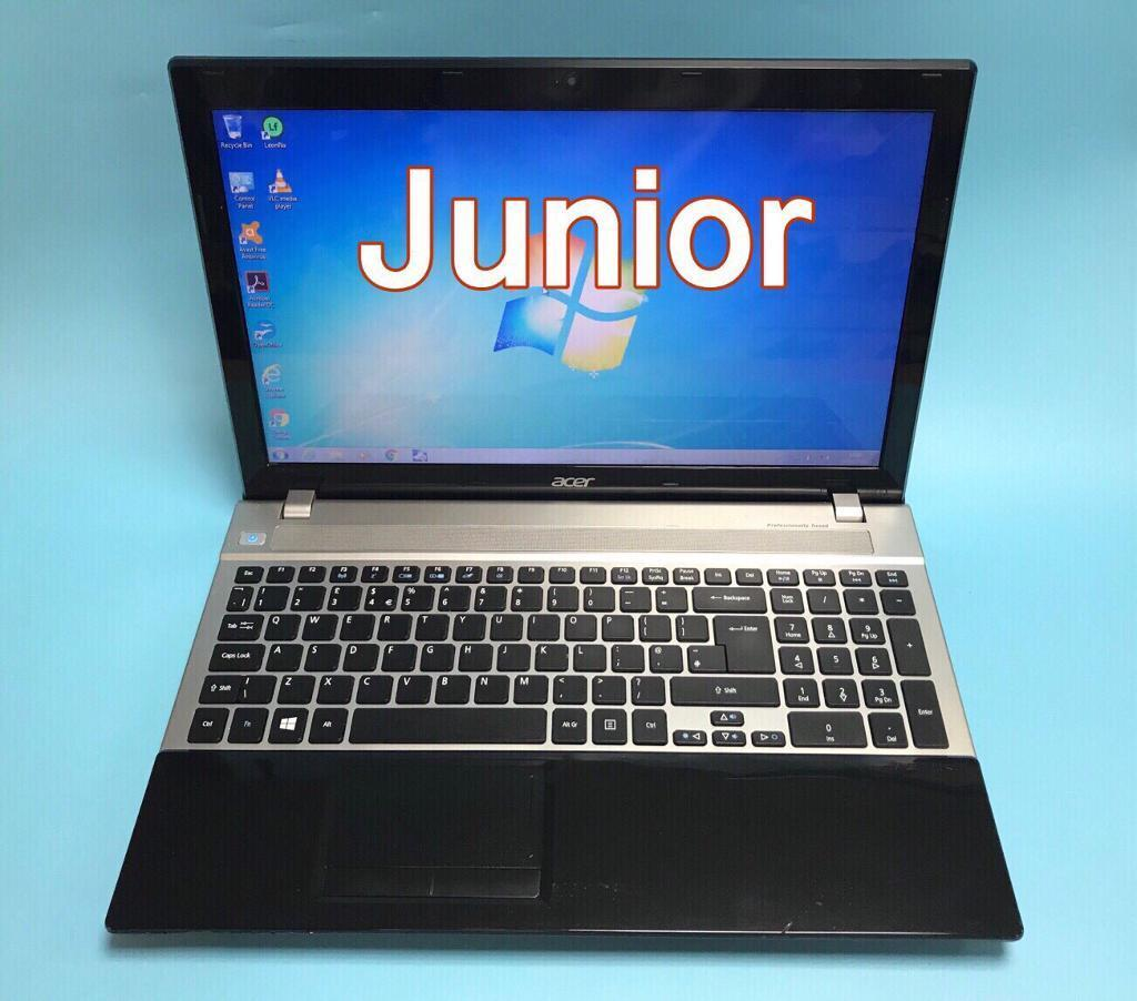 Acer Fast Hd 4gb Ram 320gb Laptop Windows 7 Ms Office Excellent Condition